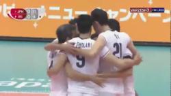 خلاصه والیبال ژاپن  - ای...