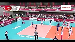 ویدئو | خلاصه والیبال ایران آرژانتین در جام جهانی والیبال ژاپن