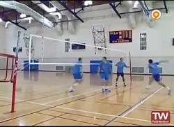 آموزش والیبال دفاع