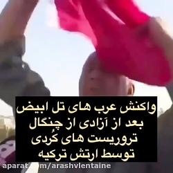 خوشحالی اعراب سوریه از ...