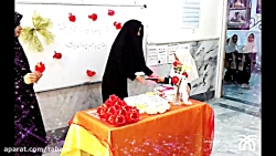 جشن قرآن کلاس اولی ها دبستان دخترانه