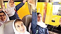 بازدید دانش آموزان از غرفه گروه بهمن