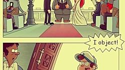 ابشار جاذبه| عروسی Wendy خ...