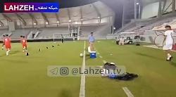 تمرین تیم ملی امید پیش ...