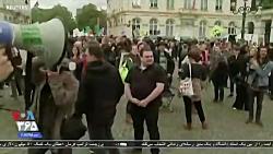 درخواست معترضان بلژیکی...