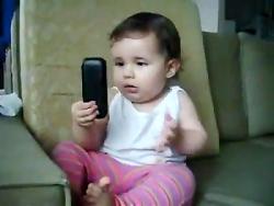بچه بانمک نسل جدید_خنده...
