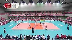 خلاصه والیبال آمریکا - مصر | جام جهانی والیبال 2019