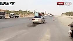 رویارویی ارتش سوریه و آ...