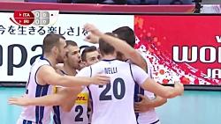 خلاصه والیبال ایران - ایتالیا | جام جهانی والیبال 2019