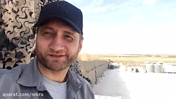 خبرنگار روس در پایگاه ت...