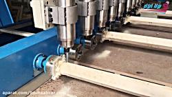 فرز چوب CNC تخت و روتاری مدل نگاره (میز متحرک)