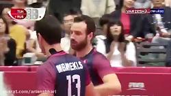 خلاصه والیبال تونس 0 - ر...