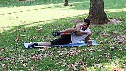 ورزیده کردن و بزرگ کردن عضله باسن با استفاده از فشار کش بدنسازی