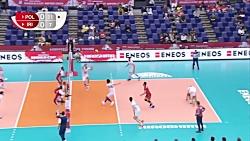 خلاصه والیبال ایران 0-3 لهستان؛ جام جهانی 2019