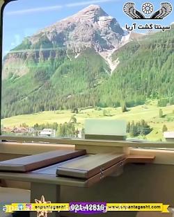 طبیعت زیبای سوئیس