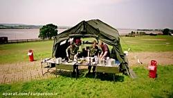 آشپزی با ارتش انگلیس