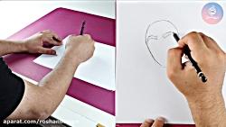 نحوه گرفتن مداد در دست ...
