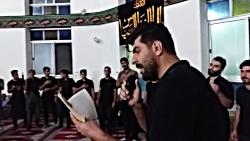 سینه زنی درروستای نیرس محرم۹۸ نوحه من زینبم باصدای حسن محمدی