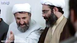 جواد عزتی و مهران رجبی در نقش آخوند - فیلم کمدی پارادایس