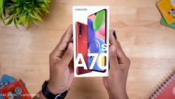 جعبه گشایی و نگاه اول به موبایل Samsung Galaxy A70s