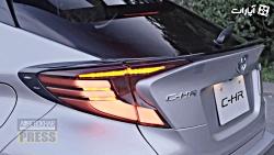 تویوتا C-HR GR Sport در ژاپن رونمایی شد