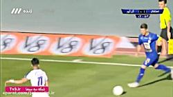 خلاصه بازی استقلال 2 - 1 گل گهر سیرجان _ شبکه سه