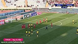 خلاصه بازی پرسپولیس 0 - 2 سپاهان _ شبکه سه