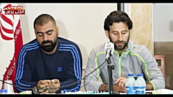 کنفرانس خبری پژمان نوری و مازیار زارع - وضعیت آکادمی باشگاه ملوان