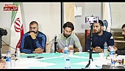 کنفرانس خبری پژمان نوری و مازیار زارع - حمایت قاطع از محمد احمدزاده