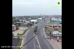 تصاویر پهپادی از تگزاس پس از طوفان را ببینید