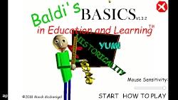 معلم کچل! Baldi's bacic's in education and learning