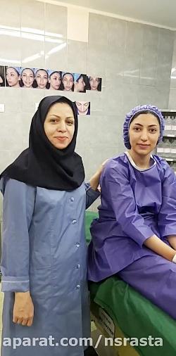 جراحی بینی باز اتاق عمل...