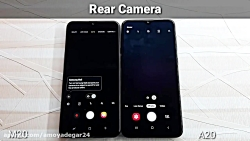 مقایسه گوشی موبایل Samsung Galaxy A20 Vs Galaxy M20