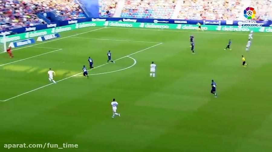 خلاصه بازی لوانته 2 - 0 وایادولید هفته 3 لالیگا 9 شهریور 98