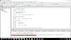 مقدمه ای بر اموزش ++C(سی پلاس پلاس) توابع و پیش تعریف قسمت 4 فصل 6