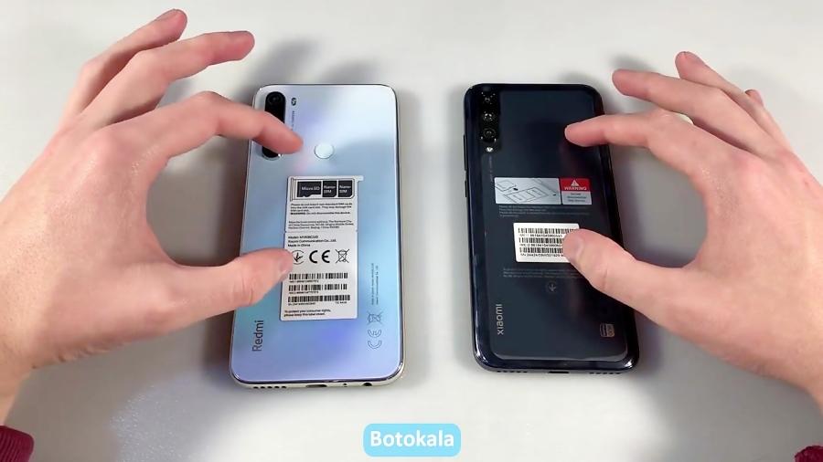 مقایسه گوشیهای Redmi Note 8 و Xiaomi MI A3