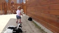 دیانا در 12 ماهگی برای تماشای حیوانات به باغ وحش رفته است