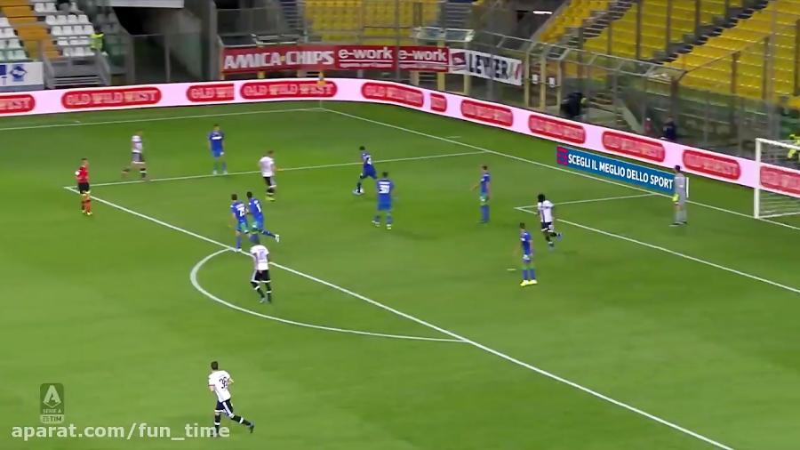 خلاصه بازی پارما 1 - 0 ساسولو هفته 5 سری آ 3 مهر 98