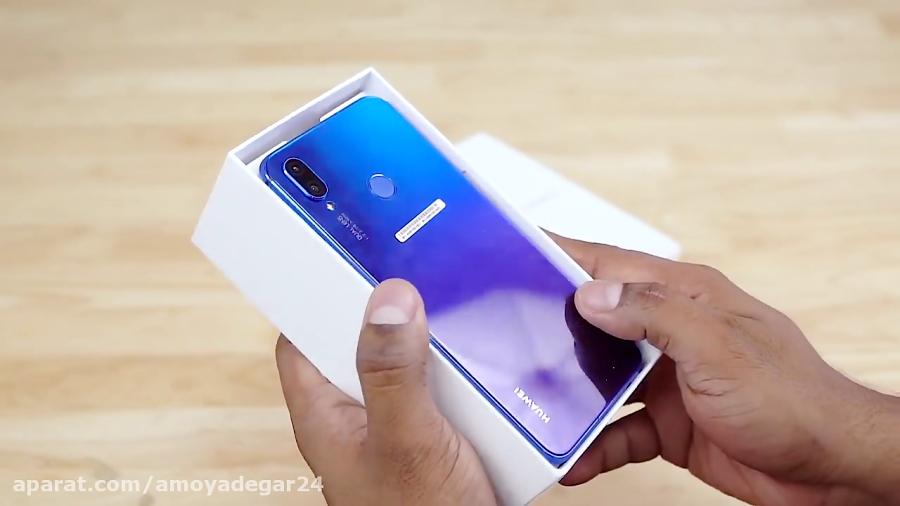 جعبه گشایی و معرفی گوشی موبایل Huawei Nova 3i