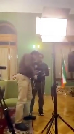 سوتی آذریجهرمی در لایو اینستاگرام
