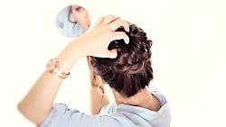 آموزش شینیون مو مجلسی جدید - آرایش مو- چند مدل شینیون جدید