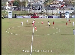 ملوان انزلی 2 - سپیدرود رشت 1 / نیمه اول