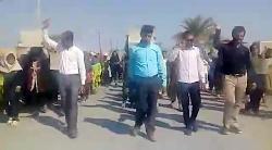 راهپیمایی ۱۳آبان روستای چاهبید