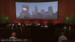 بازیگری مایکل و ترور و فرانکلین در سینما gta v