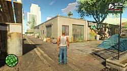 GTA San Andreas با گرافیک ۴k