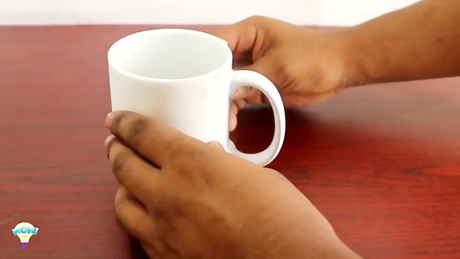 چگونه عکس خود را بر روی فنجان در خانه با استفاده از چاپ لیوان برقی استفاده کنید.