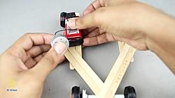 آموزش ساخت کاردستی ماشین برقی با موتور الکرتیکی و آرمیچر