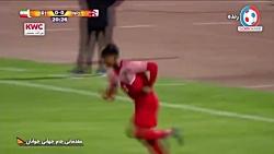 خلاصه بازی تیم ملی جوان...