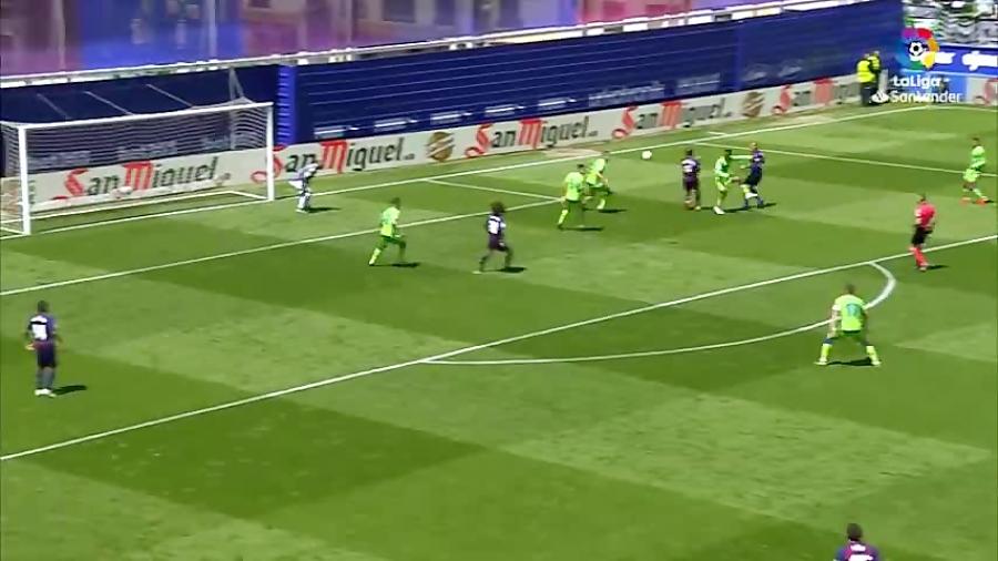 خلاصه بازی رئال بتیس  0 - 1 ایبار هفته 36 لالیگا 2018 - 2019