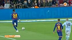 خلاصه لالیگا: بارسلونا 4-1 سلتاویگو (هتریک مسی)